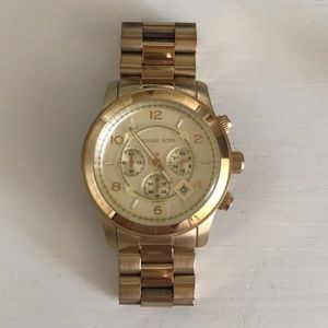 Men's Michael Kors  Gold Watch